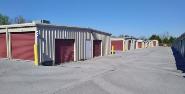 Outside view of Storage Units